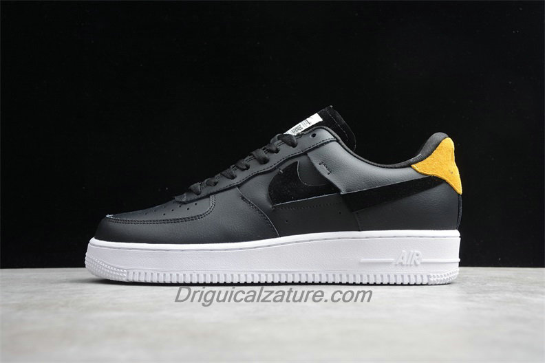 Scarpe Nike Air Force 1 07 Low LX 898889014 Nero / Giallo