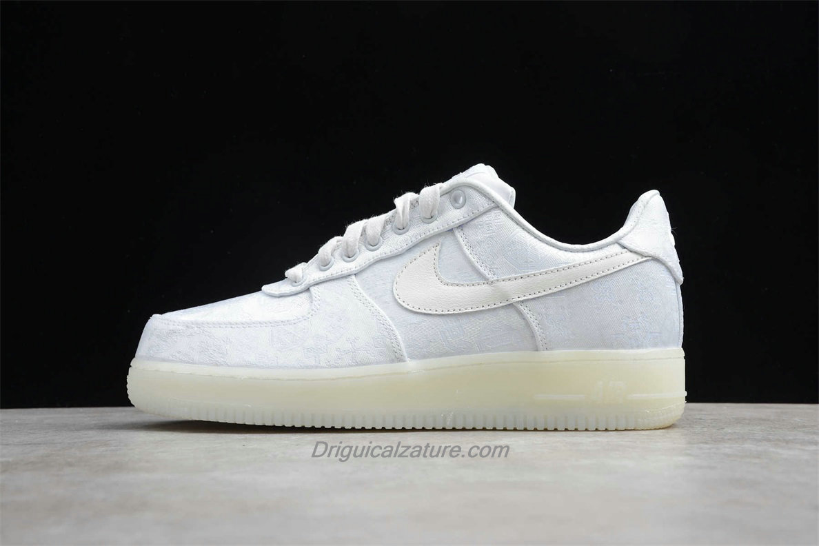 Scarpe Nike Air Force 1 Low PRM CLOT AO9286 100 Bianca
