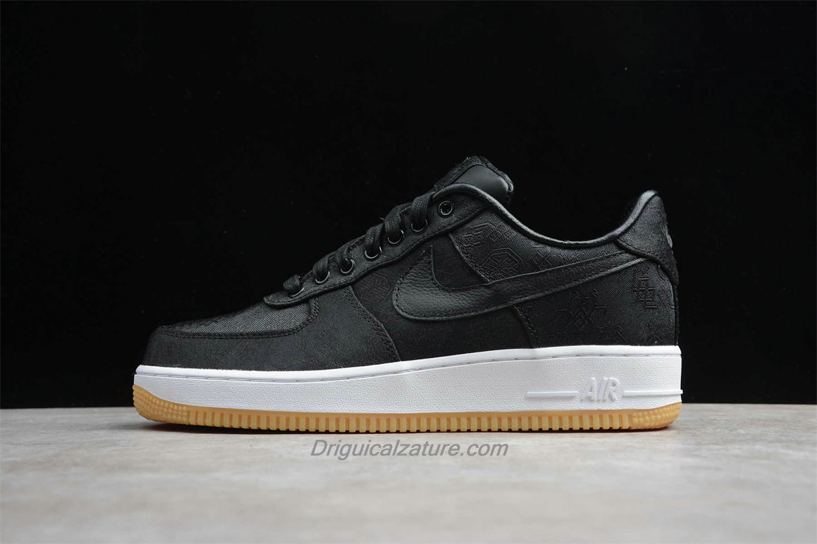 Scarpe Nike Air Force 1 Low PRM CLOT CZ3986 001 Nero